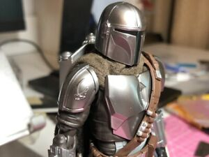 The Mandalorian Custom Wired cape for Star Wars Black Series SHF 1/12 6""