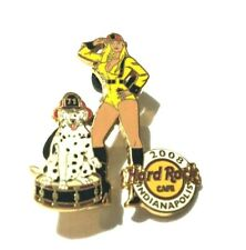 Hard Rock Cafe Pin Fire Convention Sexy Blonde Girl Dalmatian Indianapolis 2008