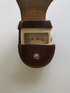 Mini Rex II  Light Exposure Meter  with Case