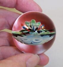 "STUNNING Vintage ART GLASS MARBLE - 1.5"" Diameter - PERFECT"