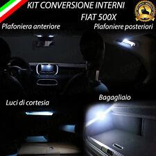 KIT FULL LED INTERNI FIAT 500X KIT COMPLETO CANBUS + LUCI ANTIPOZZANGHERA 6000K