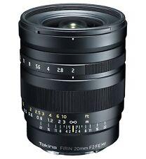 Tokina Lens FiRIN 20 mm F2 FE MF Full Size Manual Focus for Sony aE