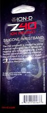 *NEW* ION-D Z40 Silicone Wristband - Negative Ion Infused technology