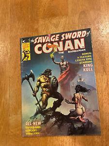 SAVAGE SWORD of CONAN #9 (Dec 1975 Marvel) High Grade! Roy Thomas Story!