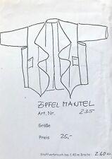 Schnittmuster Zipfel Mantel 235 Monika Popp Natur zum Anziehen Lagenlook