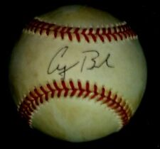 GEORGE H W BUSH SIGNED OFFICIAL 1983 WORLD SERIES BASEBALL + DELUXE DISPLAY CASE