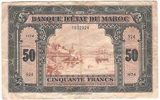 Morocco 50 Francs 1943 P-26
