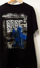 """NEFF MENS TEE BLACK SIZE LARGE T-SHIRT 21""""PIT 29""""L MADE IN USA 100% COTTON"""