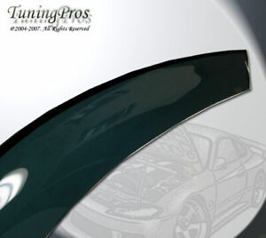 For Dodge Ram 3500 Crew Cab 10-16 Front 2pc Only Rain Guard Wind Deflector Visor