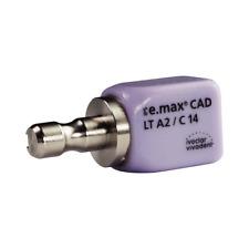 Ivoclar Vivadent 605329 Ivoclar IPS e.max CAD CEREC Blocks InLab LT A2 C14 5/Pk