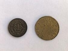 - - - ☆  Spielmünze - Spielmarke - Spielgeld  ☆  2 ST.