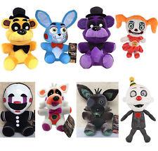 "FNAF Five Nights at Freddy's Sanshee Plushie Toy 6"" Plush Bear/Foxy Xmas Gift"