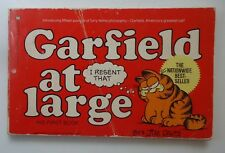 Garfield Comic Book - Garfield At Large by Jim Davis - # 1 His First Book - 1980