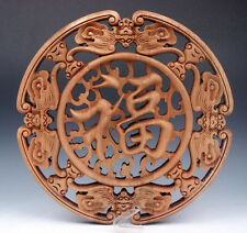 Carved Wood Panel