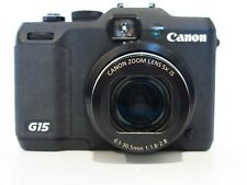 Canon PowerShot G15 12.1 MP Point & Shoot Digital Camera No Charger - works well