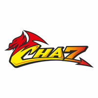 SW A Gloss Laminate sticker of the Chaz Welsh dragon for rider Chaz Davies /1229