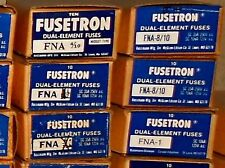 """FNA-4/10 Amp BUSS Pin Indicating Fuses 13/32""""x1-1/2"""" Bussmann NEW Lot of 4 250V"""