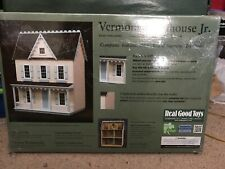 Vermont Farmhouse Jr. DOLLHOUSE, Model #MM-JM401 by Real Good Toys, NEW in box