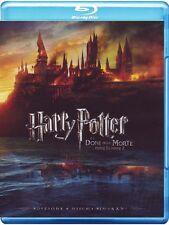 Harry Potter e i doni della morte - Parte I e II (4 Blu Ray) Sigillato