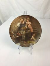 Knowles Plate- The Cobbler Limited Edition 1978 Norman Rockwell