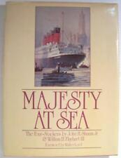 Signed MAJESTY AT SEA * John H. Shaum / William H. Flayhart III 1981 1ST HBDJ