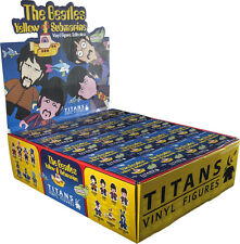 "THE BEATLES - Yellow Submarine 3"" Blind Box Vinyl Figurines Display (20ct) #NEW"