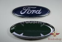 Front Ford Oval Badge Grille Logo. For Ford Fiesta MK7 2008 - 2012  17,5 Cm