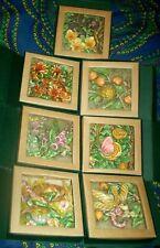 Harmony Kingdom Picturesque 3D Magnet Tile - Byron's Secret Garden lot of 7