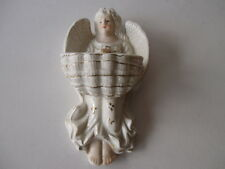 HOLY WATER FONT ANTIQUE STYLE ANGEL