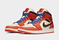 3b9e1795eed Nike Jordan 1 Mid SE Team Orange Deep Royal UK 8.5 US 9.5 EU 43 852542