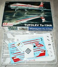 Tupolev Tu-134A (CSA, INTERFLUG) in 1/144 von AZ-Models