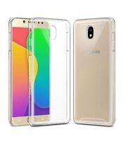 Funda de gel TPU carcasa silicona para movil Samsung Galaxy J7 2017 TRANSPARENTE