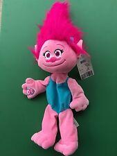 """Build a Bear 15"""" DreamWorks Trolls Poppy Plush Toy - Unstuffed - NWT"""