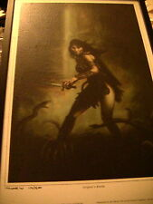 More details for xena warrior princess limited edition fantasy art thorpe 2001 serpant realm
