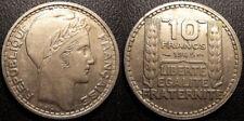 Gouvernement provisoire - 10 francs Turin 1945 Grosse tête Rameaux longs F.361/2