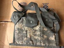 U S Army   UCP  MOLLE II Bandoleer Ammunition Pouch 6 Magazine
