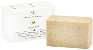 Noble Formula 2% Pyrithione Zinc (ZnP) Argan Oil Bar Soap 3.25 oz