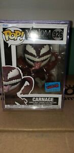 Funko Pop! Carnage with Tentacles - Venom 926 NYCC 2021 Con Sticker IN HAND!