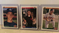Lot Of 3 1992 Upper Deck Rookie Cards - Jim Thome, Manny Ramirez, & Shawn Green