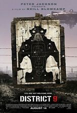 DISTRICT 9, Movie One-Sheet Poster, 27x40, TriStar (2009) Peter Jackson