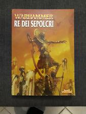warhammer livre d'armée roi des tombes de Khemri version italienne jamais servi