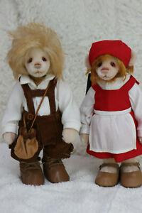 Charlie Bears - Hansel & Gretel by Isabelle Lee L/E - BNWT