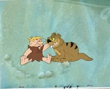 Flintstones Original production cell Barney & Sabre Toothed Tiger 1966