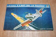 Trumpeter 02241 US Navy SBD-1/2 Dauntless 1:32 NEU OVP Flugzeug