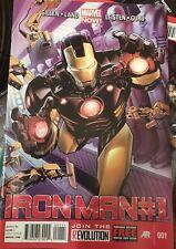 Iron Man #1 Volume 5 January 2013 Marvel