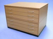 TRADITIONAL WOOD PLANCHEST AO 6 DRAWER