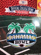 Official NCAA College Football Bahamas Bowl 2017/18 Patch UAB Ohio