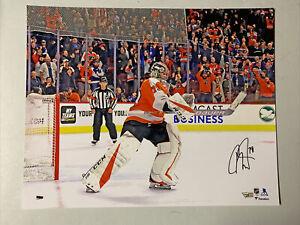 Carter Hart Autograph Signed Flyers 16x20 Photo Fanatics
