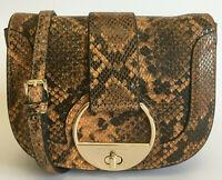 PAUL COSTELLOE Leather Crossbody Shoulder Bag Womens Small
