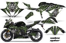 Street Bike Graphics Kit Decal Wrap For Kawasaki Ninja ZX6R 636 13-16 WIDOW G K